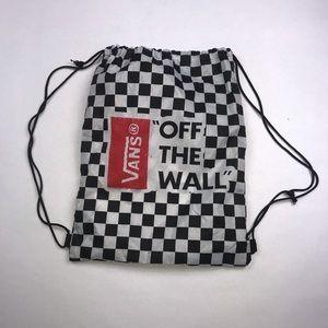VANS Drawstring Backpack Style Bag